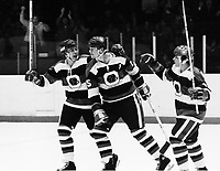 Bill Kitchen Bobby Smith Yvan Joly Ottawa 67's 1978. Photo Scott Grant