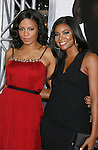 """WESTWOOD, CA. - December 16: Actresses Sanaa Lathan and Gabrielle Union arrive at the Los Angeles premiere of """"Seven Pounds"""" at Mann's Village Theater on December 16, 2008 in Los Angeles, California."""