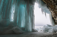 Grand Island Ice Caves, Munising, MI