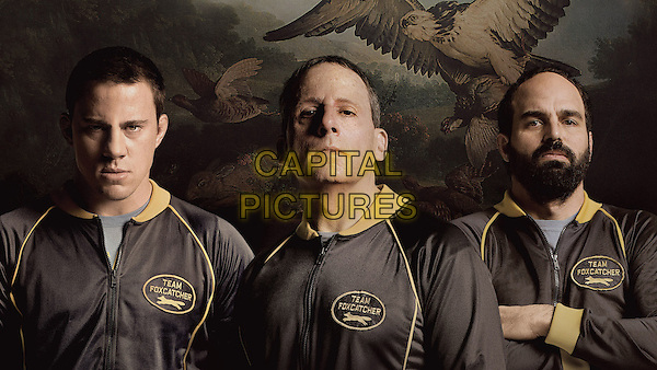Channing Tatum, Steve Carell, Mark Ruffalo<br /> in Foxcatcher (2014) <br /> *Filmstill - Editorial Use Only*<br /> CAP/NFS<br /> Image supplied by Capital Pictures