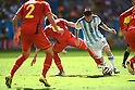 Lionel Messi (ARG), JULY 5, 2014 - Football / Soccer : FIFA World Cup Brazil 2014 Quarter-finals match between Argentina 1-0 Belgium at Estadio Nacional in Brasilia, Brazil. (Photo by FAR EAST PRESS/AFLO)