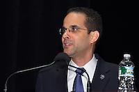 Rhode Island Mayor Angel Taveras speaking at The Yale SOM Education Leadership Conference. Friday Morning Keynote. 5 April 2013.