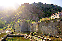 Walls of Kotor, Montenegro