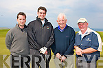 CHAIRTY GOLF: The Baileys Solicitors team who played in the St Vincent de Paul Annual Golf Classic fundraiser at Tralee Golf Club on Saturday l-r: Mike Stack, Gary O'Driscoll, Paudie Casey and Conor Stack.