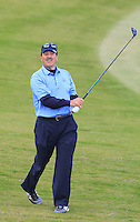 Ken Noonan (AM) on the 7th fairway during Round 3 of the 2015 Alfred Dunhill Links Championship at Kingsbarns in Scotland on 3/10/15.<br /> Picture: Thos Caffrey | Golffile