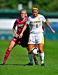 19 September 2010: University of Vermont Catamount forward Shannon Spusta, a Sophomore from Macedon, NY, in action against the Colgate University Raiders at Centennial Field in Burlington, Vermont. The Raiders scored a pair of second half goals two minutes apart to notch a 2-0 victory over the Lady Cats in non-conference women's soccer play. Mandatory Credit: Ed Wolfstein Photo