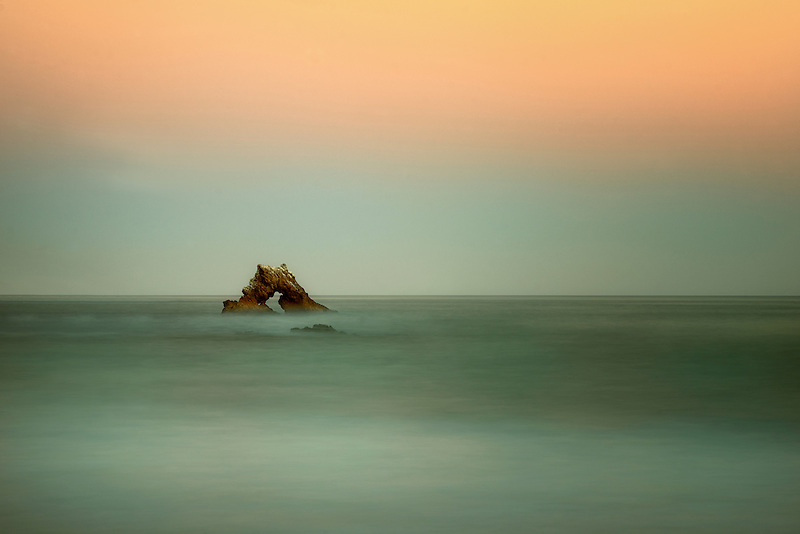 Arch Rock. Corona Del Mar, Californiua
