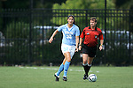 16 September 2005: Yael Averbuch (32). The North Carolina Tarheels defeated the San Diego Toreros 3-0 at Duke University's Koskinen Stadium in Durham, NC in a NCAA Division I women's soccer game.