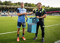 Trialist for Wycombe Wanderers during the Pre-Season Friendly match between Wycombe Wanderers and Queens Park Rangers at Adams Park, High Wycombe, England on the 22nd July 2016. Photo by Liam McAvoy / PRiME Media Images.