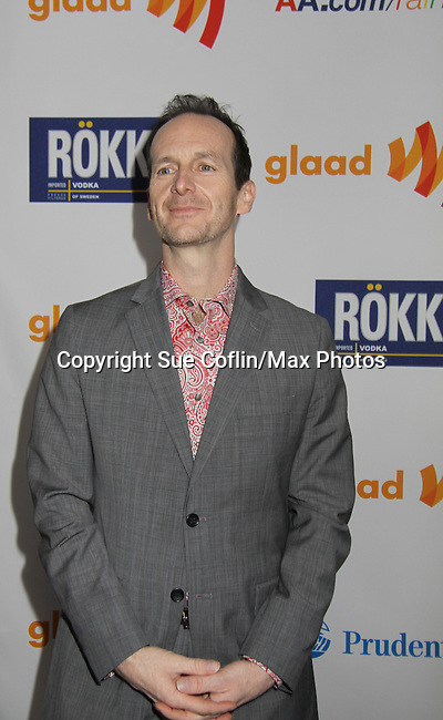 Denis O'Hare (True Blood) at the 22nd Annual Glaad Media Awards honoring Ricky Martin (GH) & Russell Simmons on March 19, 2011 at the New York Marriott Marquis, New York City, New York. (Photo by Sue Coflin/Max Photos)