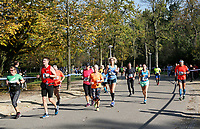 Nederland - Amsterdam - 2017 .  De Marathon van Amsterdam. Het Vondelpark.    Foto Berlinda van Dam / Hollandse Hoogte