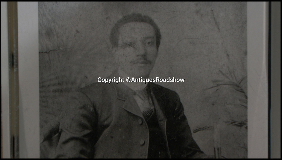 BNPS.co.uk (01202 558833)<br /> Pic: AntiquesRoadshow/BNPS<br /> <br /> Arthurn Wharton, the first professional football player to play in England. <br /> <br /> The little-known story of the first professional black footballer to play in England over 100 years ago only to become a poor minner has emerged.<br /> <br /> Arthur Wharton was a teenage immigrant from the Gold Coast - Ghana - who came from a wealthy family and was sent to the UK for a Christian education.<br /> <br /> While here he developed into an incredibly talented athlete and excelled at running, football and cricket.<br /> <br /> After winning the AAA national championships for the 100 yard sprint, Arthur went on to become an accomplished goalkeeper.<br /> <br /> In 1888 he signed professional terms with Preston North End who played in the old Division One, what is now the Premier League.