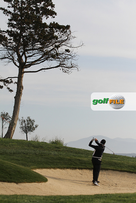 Kim Hoon (KOR) on the 1st on Day 2 of the 2012 Sicilian Open at Verdura Golf and Spa Resort, Sicily, Italy....(Photo Jenny Matthews/www.golffile.ie)