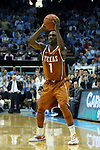 18 December 2013: Texas' Isaiah Taylor. The University of North Carolina Tar Heels played the University of Texas Longhorns at the Dean E. Smith Center in Chapel Hill, North Carolina in a 2013-14 NCAA Division I Men's Basketball game. Texas won the game 86-83.