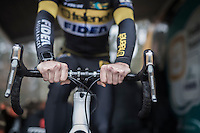 Jim Aernouts (BEL/Telenet-Fidea) warming up<br /> <br /> Krawatencross Lille 2017