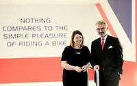Picture by Simon Wilkinson/SWpix.com - 10/01/2017 - Cycling British Cycling - National Cycling Centre, Manchester - British Cycling new Independent Chairman - Frank Slevin Chief Executive Officer and Julie Harrington