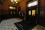 Illinois Speaker of the House Michael Madigan's office between the chambers of the Illinois Senate and House during the closing marathon legislative sessions, 2009, expected to end Sunday, that marks the end of the legislative year in Springfield, Illinois on May 27.  Madigan was in closed door meetings and unavailable for photographs.