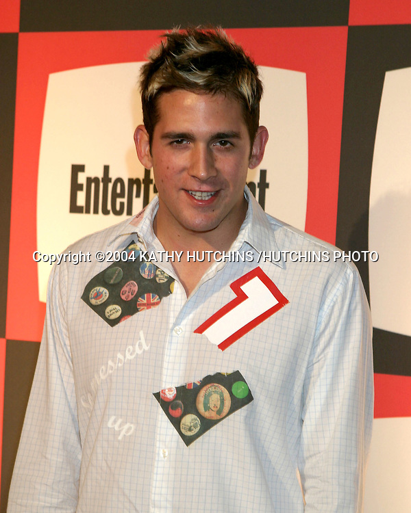 ©2004 KATHY HUTCHINS /HUTCHINS PHOTO.EMMY NOMINEE RECEPTION.ENTERTAINMENT WEEKLY PRE EMMY PARTY.SEPTEMBER 18, 2004..ERIC SZMANDA