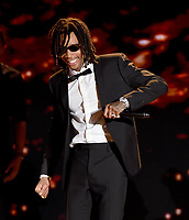 MOUNTAIN VIEW, CA - DECEMBER 3: Wiz Khalifa performs on the 6th Annual Breakthrough Prize at NASA Ames Research Center on December 3, 2017 in Mountain View, California. (Photo by Frank Micelotta/NatGeo/PictureGroup)