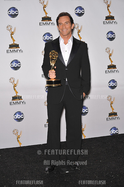 Jeff Probst at the 2008 Primetime Emmy Awards at the Nokia Live Theatre. .September 21, 2008  Los Angeles, CA.Picture: Paul Smith / Featureflash