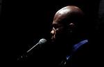 Candidate to the presidency in Haiti elections / Rueda de prensa del cantante y candidato a la presidencia de Haiti, Michel Martelly el dia antes de los resultados de las elecciones. Photo by Jose L. Cuesta