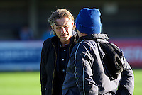 Manager Gareth Ainsworth of Wycombe Wanderers before the Sky Bet League 2 match between AFC Wimbledon and Wycombe Wanderers at the Cherry Red Records Stadium, Kingston, England on 21 November 2015. Photo by Alan  Stanford/PRiME.