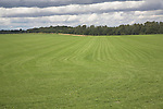 Commercial grass turf farming, Sutton, Suffolk, England