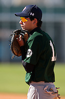 December 29, 2009:  Zac Mitchell (11) of the Baseball Factory Hurricanes team during the Pirate City Baseball Camp & Tournament at Pirate City in Bradenton, FL.  Photo By Mike Janes/Four Seam Images