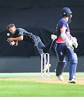 Blackcaps Trent Boult in the field during the third ODI cricket match between the Blackcaps & England at Westpac stadium, Wellington. 3rd March 2018. © Copyright Photo: Grant Down / www.photosport.nz
