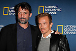 PASADENA - JAN 3: Billy Campbell, Jesse Johnson of the show 'Killing Lincoln' at the National Geographic Channels TCA party on January 3, 2013 at the Langham Hotel in Pasadena, California