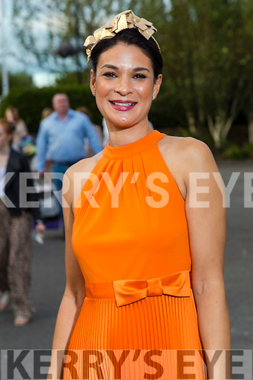 Former Rose Luzveminda O'Sullivan (1998) at the Rose of Tralee fashion show at the dome on Sunday night.
