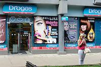 Drogeriemarkt in Kaunas, Litauen, Europa