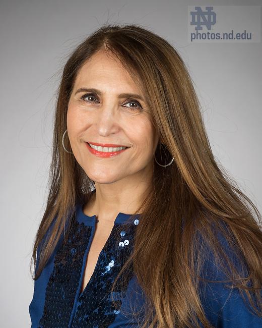 May 12, 2017; Roya Ghiaseddin - Headshot (Photo by Barbara Johnston/University of Notre Dame)