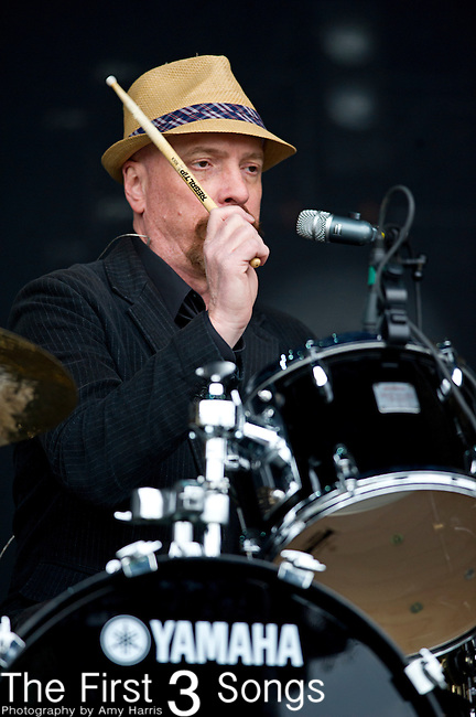 Frank Funaro of Cracker performs during the The Beale Street Music Festival in Memphis, Tennessee.