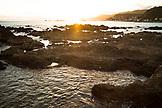 NEW ZEALAND, Wellington, Sunset on the Cook Strait, Ben M Thomas