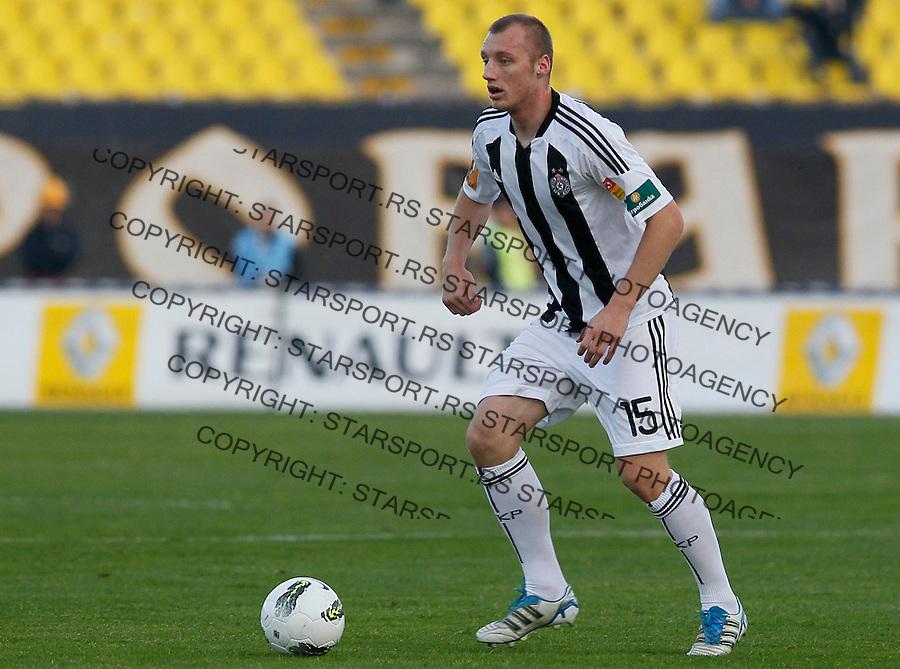 Fudbal, Jelen super liga, season 2011/2012.Partizan Vs. Smederevo.Ivan Ivanov.Beograd, 29.10.2011..Srdjan Stevanovic/Starsportphoto ©