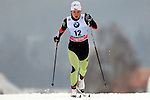 Petra Novakova in action during the Women 5 km Classic Individual in Val Di Fiemme<br /> <br /> &copy; Pierre Teyssot