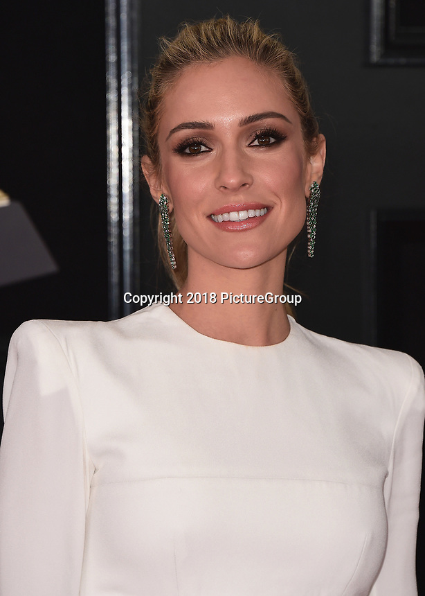 NEW YORK - JANUARY 28:  Kristin Cavallari at the 60th Annual Grammy Awards at Madison Square Garden on January 28, 2018 in New York City. (Photo by Scott Kirkland/PictureGroup)