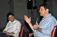 SAO PAULO, SP, 16 DE AGOSTO 2012 – O candidato a prefeitura da cidade Fernando Haddad (PT) participa de debate promovido por alunos da Faculdade de Direito da USP. (FOTO: THAIS RIBEIRO / BRAZIL PHOTO PRESS).