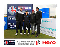 Richard Sterne (RSA) on the 10th tee during the Pro-Am of the Betfred British Masters 2019 at Hillside Golf Club, Southport, Lancashire, England. 08/05/19<br /> <br /> Picture: Thos Caffrey / Golffile<br /> <br /> All photos usage must carry mandatory copyright credit (© Golffile | Thos Caffrey)