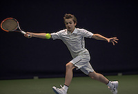 Hilversum, Netherlands, December 4, 2016, Winter Youth Circuit Masters, Stian Klaasen (NED)<br /> Photo: Tennisimages/Henk Koster