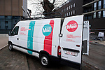 """Belgium, Mons - December 17, 2014 -- European Capital of Culture in 2015 (together with the Czech city of Pilsen) themed """"Where technology meets culture""""; here, one of the vehicles of the official fleet -- Photo © HorstWagner.eu"""