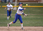 Wildcats' Katilyn Covione makes a play against Snow College at Edmonds Sports Complex in Carson City, Nev., on Friday, March 20, 2015. <br /> Photo by Cathleen Allison/Nevada Photo Source