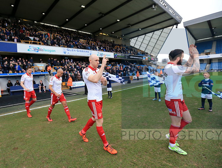Sheffield United's Conor Sammon walks out during the League One match at The Den.  Photo credit should read: David Klein/Sportimage