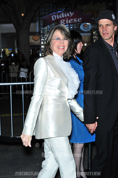 "Diane Keaton at the Los Angeles premiere of her new movie ""Mad Money"" at the Mann Village Theatre, Westwood..January 9, 2008  Los Angeles, CA.Picture: Paul Smith / Featureflash"