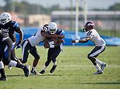 Dj Boney (12) - Norland Vikings (Miami) vs IMG Academy Football on October 26, 2019 at IMG Academy in Bradenton, Florida.  (Mike Janes Photography)