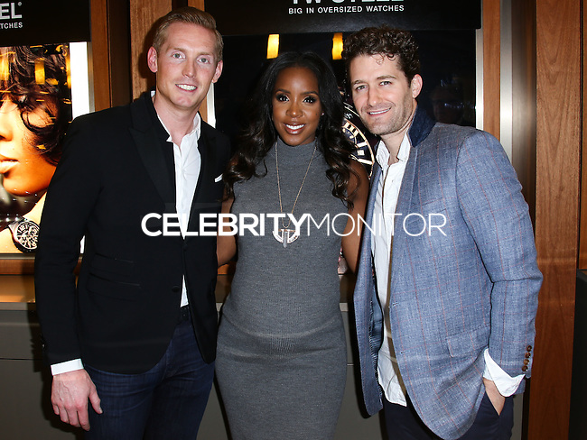 LOS ANGELES, CA, USA - SEPTEMBER 04: Kelly Rowland, Matthew Morrison attend Kelly Rowland's New TW Steel Canteen Bracelet Watch Showcase at Feldmar Watch Company on September 4, 2014 in Los Angeles, California, United States. (Photo by Xavier Collin/Celebrity Monitor)