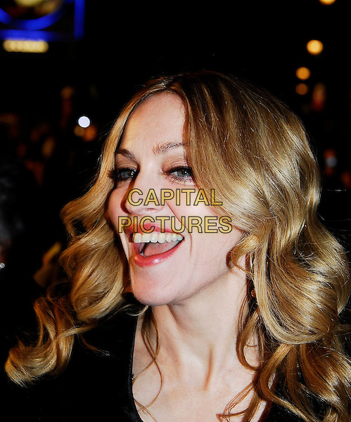 "MADONNA.""Arthur And The Invisibles"" UK film premiere at Vue Leicester Square, London, UK..January 25th, 2007.headshot portrait mouth open.CAP/IA.©Ian Allis/Capital Pictures"