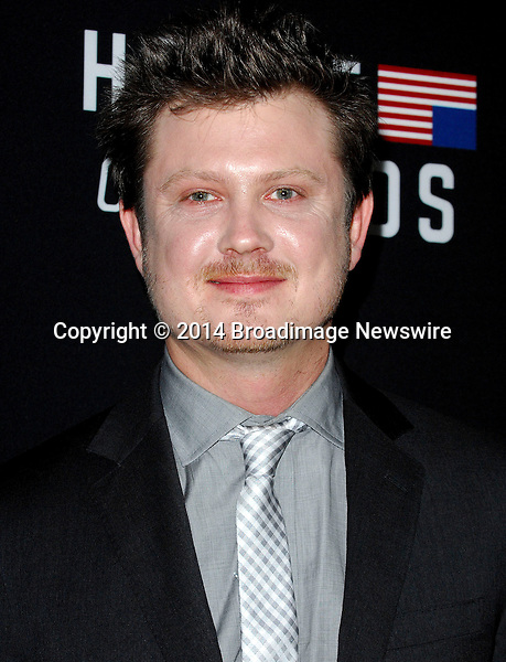 Pictured: Beau Willimon<br /> Mandatory Credit &copy; Adhemar Sburlati/Broadimage<br /> Film Premiere of House of Cards<br /> <br /> 2/13/14, Los Angeles, California, United States of America<br /> <br /> Broadimage Newswire<br /> Los Angeles 1+  (310) 301-1027<br /> New York      1+  (646) 827-9134<br /> sales@broadimage.com<br /> http://www.broadimage.com