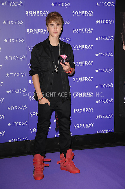 WWW.ACEPIXS.COM . . . . . .June 23, 2011...New York City....Justin Bieber promotes 'Someday'  at Macy's Herald Square on June 23, 2011 in New York City. Please byline: KRISTIN CALLAHAN - ACEPIXS.COM.. . . . . . ..Ace Pictures, Inc: ..tel: (212) 243 8787 or (646) 769 0430..e-mail: info@acepixs.com..web: http://www.acepixs.com .